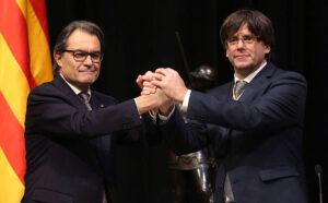 Artur Mas i Carles Puigdemont
