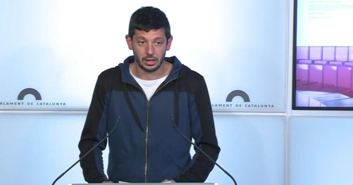 El diputado de la CUP Xavi Pellicer