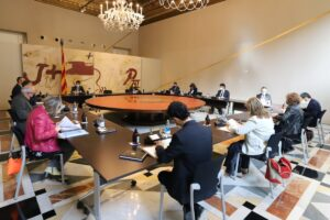 Reunió del govern de la Generalitat