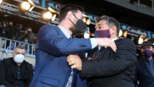 Messi y Laporta