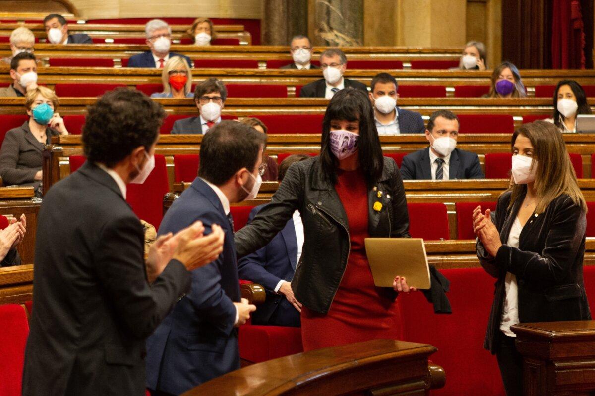 Aurora Madaula, al Parlament