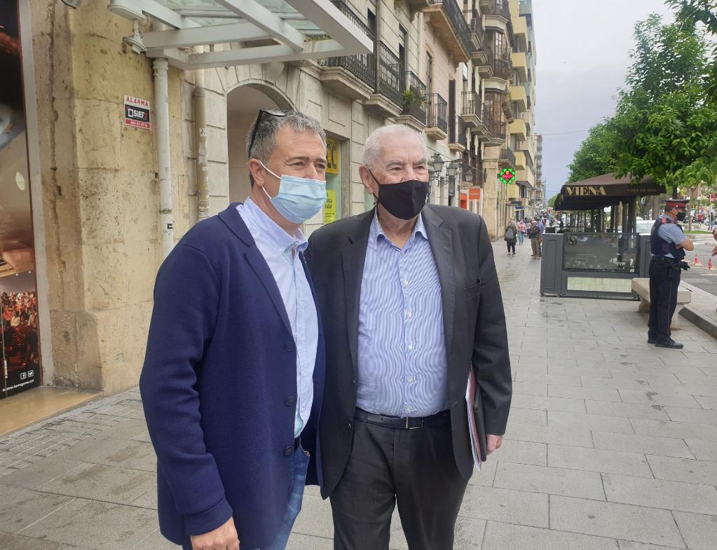 Jordi Gaseni y Ernest Maragall