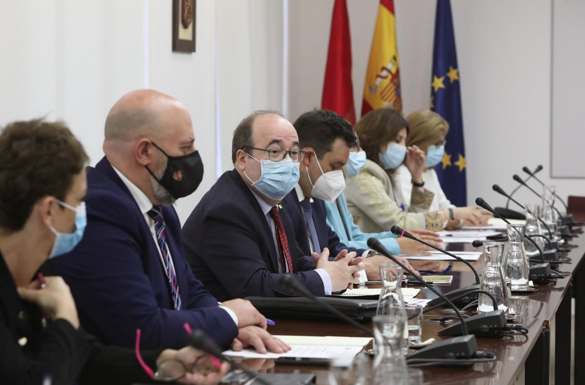 El ministre de Política Territorial i Funció Pública, Miquel Iceta
