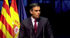 Intervenció del president del govern d'Espanya, Pedro Sánchez, al Liceu