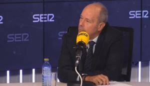 El ministro de Justicia, Juan Carlos Campo, en cadena SER