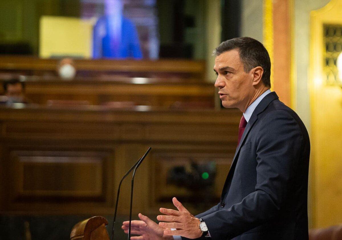 El presidente del Gobierno central, Pedro Sánchez