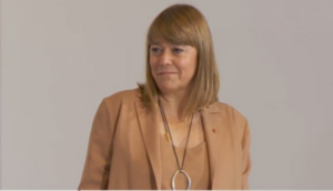 La consellera de Cultura Natàlia Garriga