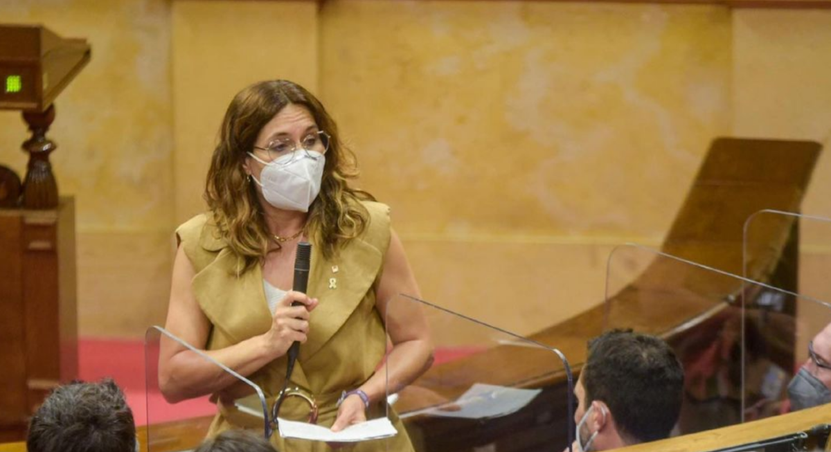 La consellera de la Presidència, Laura Vilagrà