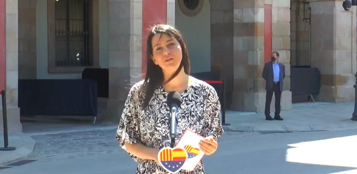 La líder nacional de Ciutadans, Inés Arrimadas