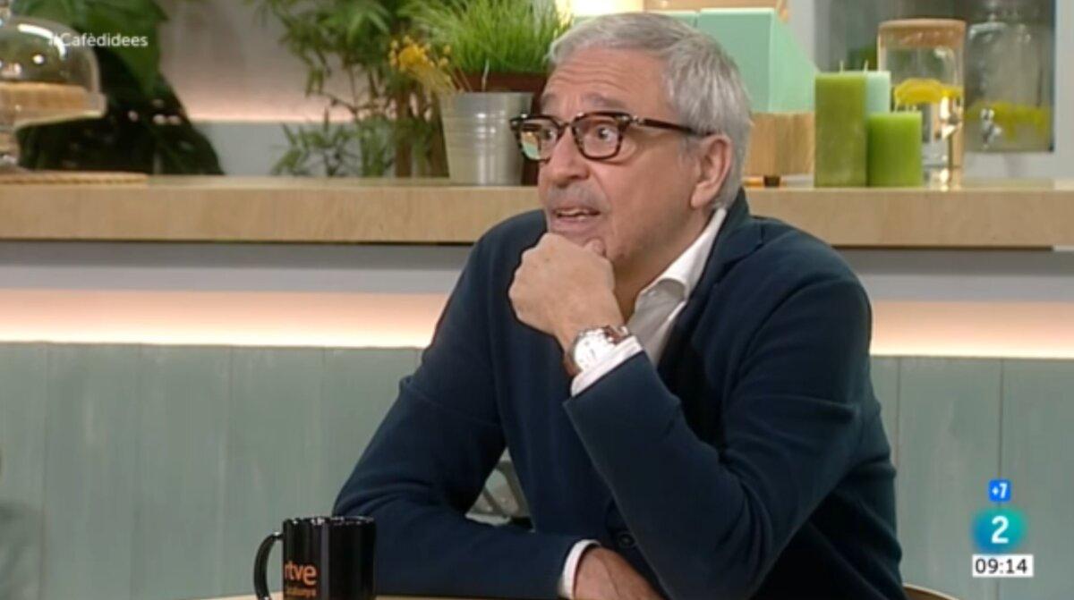 L'advocat de Joaquim Forn, Xavier Melero, en una entrevista al programa 'Cafè d'idees'