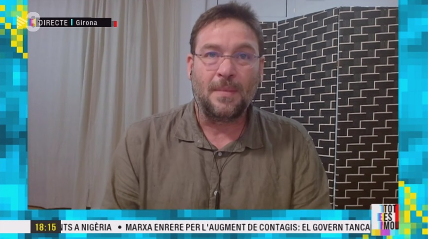 Albano-Dante Fachín, a TV3