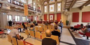 Acte de la Universitat Catalana d'Estiu a Manresa