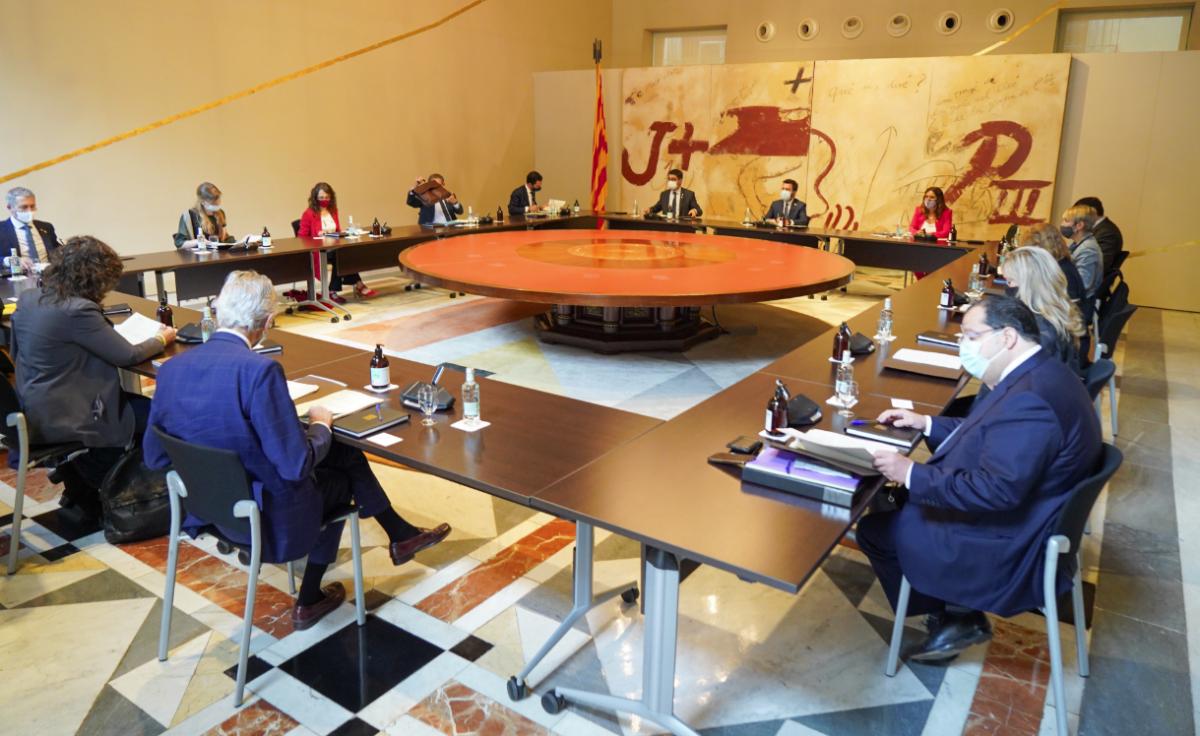 La reunió del consell executiu del 6 de juliol