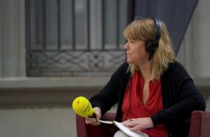 La consellera de Cultura, Natàlia Garriga