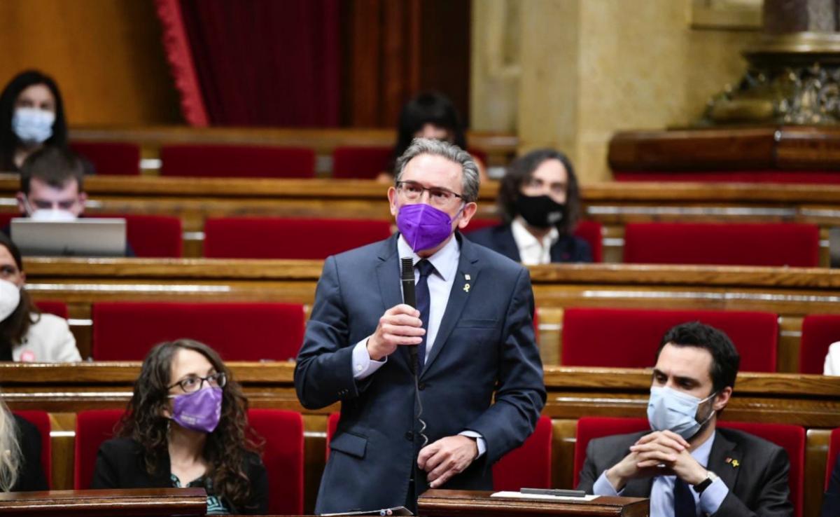 El conseller d'Economia, Jaume Giró