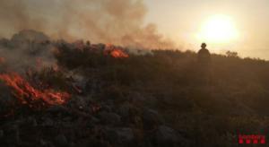 El incendio del Mazico del Montgrí