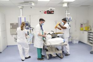Personal médico del Hospital Vall d'Hebron