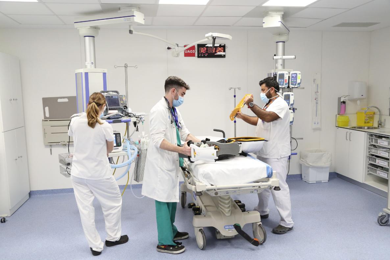 Personal mèdic de l'Hospital Vall d'Hebron