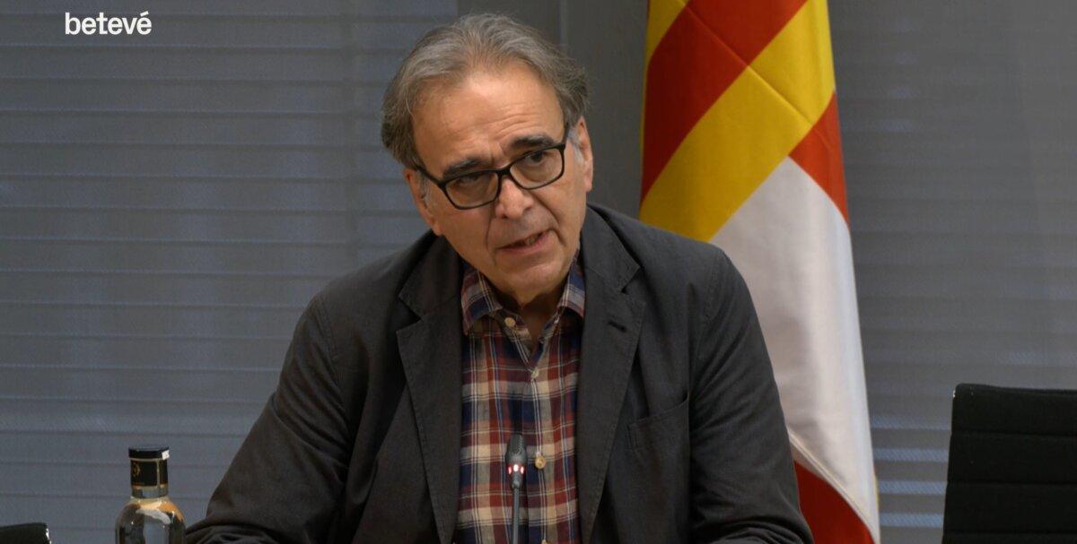 El teniente de alcalde de Cultura, Educación, Ciencia y Comunidad del Ayuntamiento de Barcelona, Joan Subirats