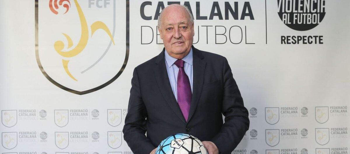 Joan Soteras, president de la FCF