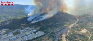 L'incendi de Castellví de Rosanes i Martorell