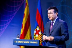 Antoni Guil, actual presidente de la Confederación Mundial de Peñas del FC Barcelona