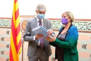 Traspàs de cartera d'Alba Vergés a Josep Maria Argimon