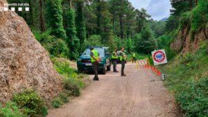 Control de los Agentes Rurales en un espacio protegido