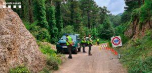 Control dels Agents Rurals en un espai protegit