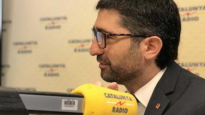 El vicepresidente de la Generalitat, Jordi Puigneró, en 'Catalunya Ràdio'
