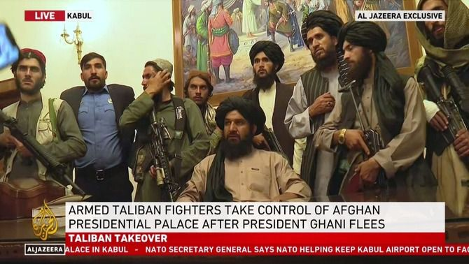 Los talibanes toman el edificio presidencial en Kabul (Al Jazeera)