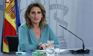 La ministra per a la Transició Ecològica i el Repte Demogràfic, Teresa Ribera