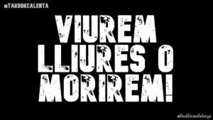 Lema Black Bloc Catalunya