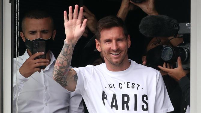 Leo Messi, a París