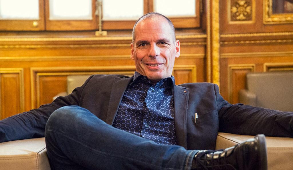 L'exministre de Finances grec, Yanis Varoufakis