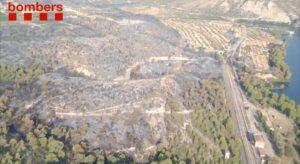 L'incendi forestal de la Pobla de Massaluca (Terra Alta)