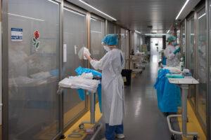 UCI del Hospital Clínic de Barcelona