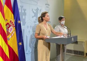 La ministra Raquel Sánchez