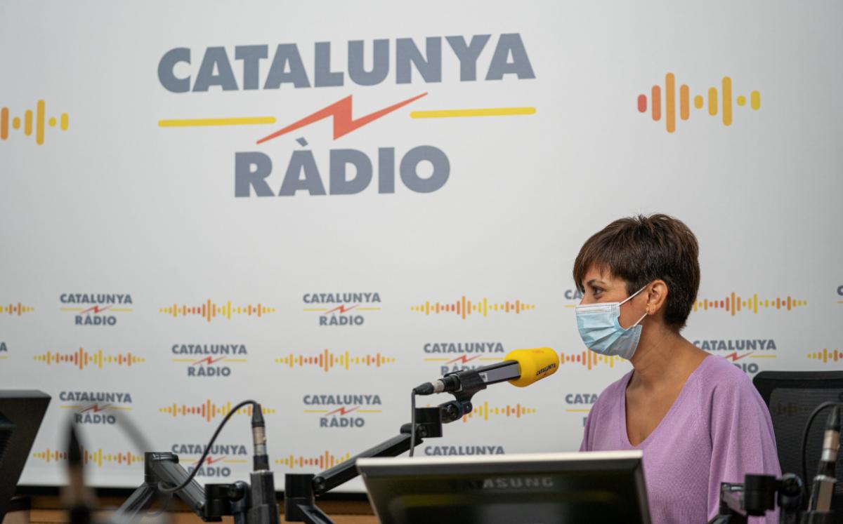 La ministra y portavoz del gobierno español, Isabel Rodríguez