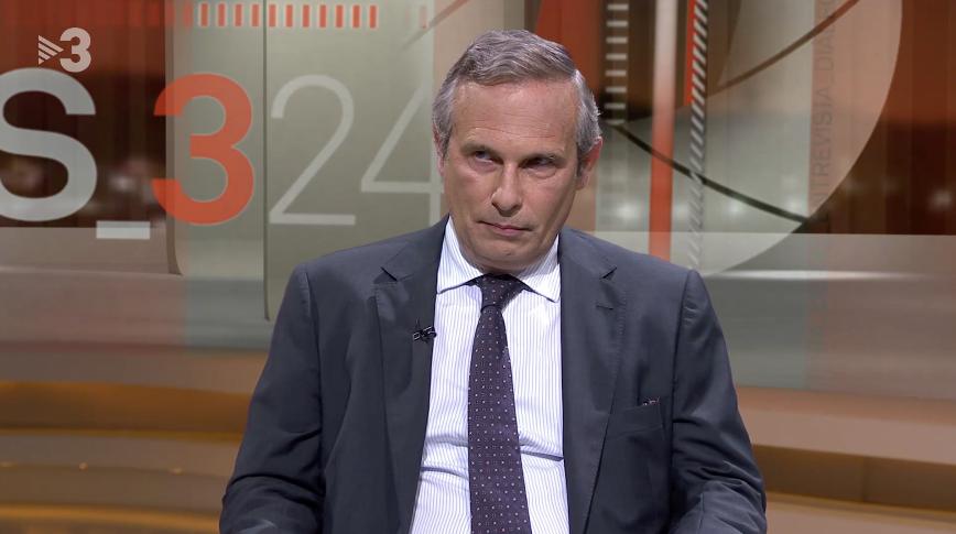 Josep Lluís Alay, en el programa 'Més 324'