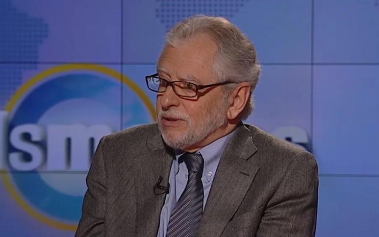 Carles Viver Pi-Sunyer, en 2015, en TV3