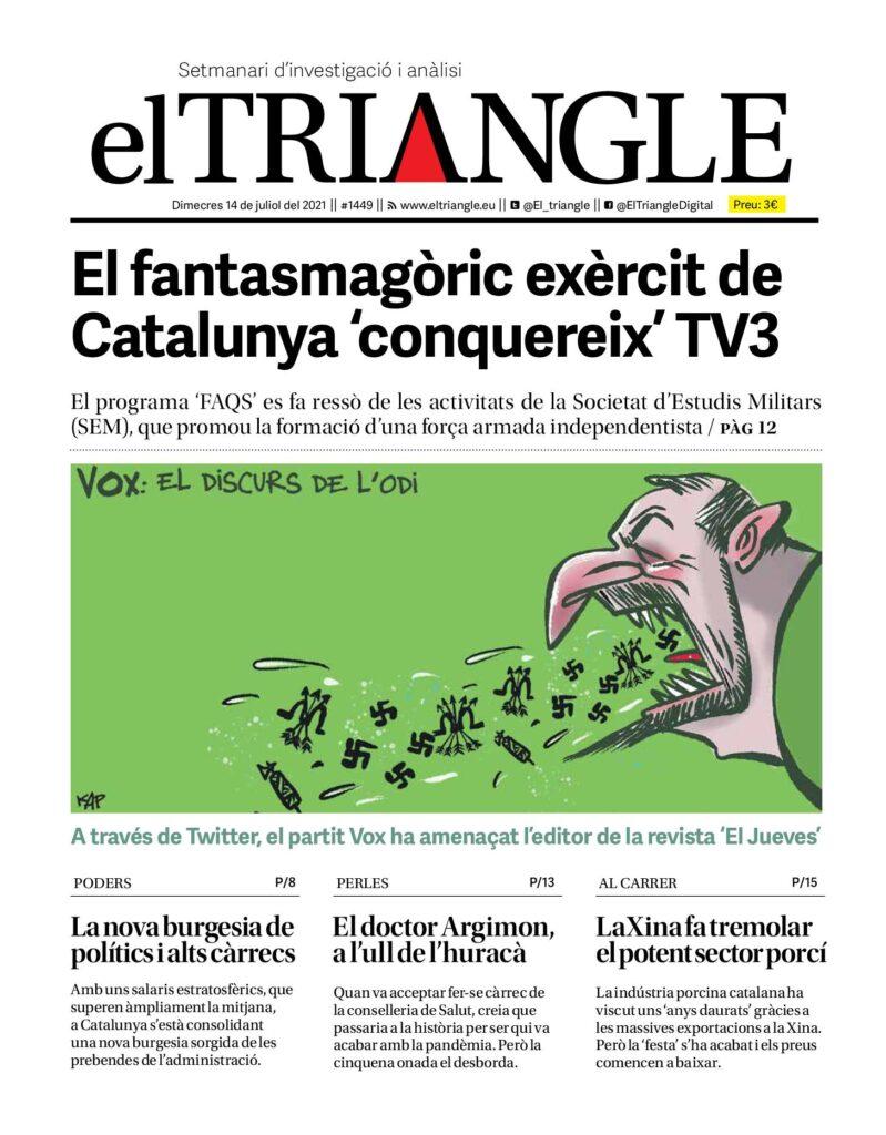 El fantasmagòric exèrcit de Catalunya 'conquereix' TV3