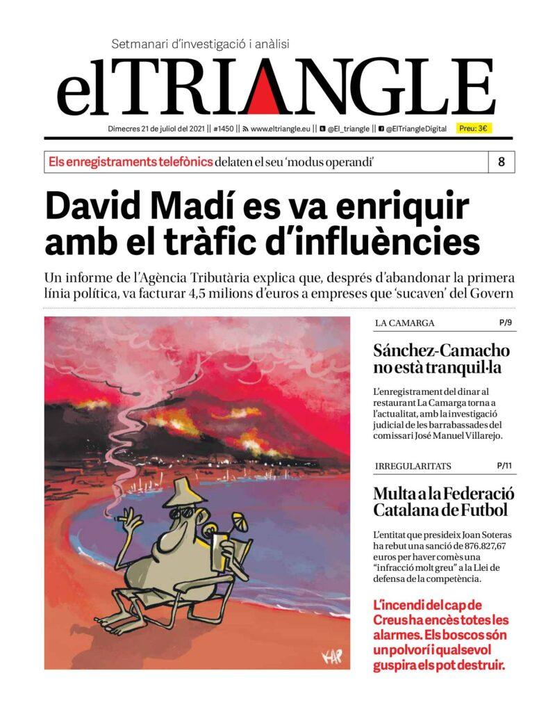 David Madí es va enriquir amb el tràfic d'influències