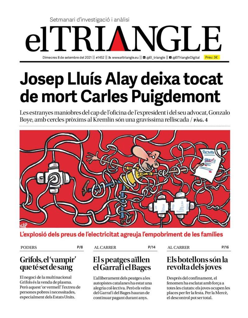 Josep Lluís Alay deixa tocat de mort Carles Puigdemont