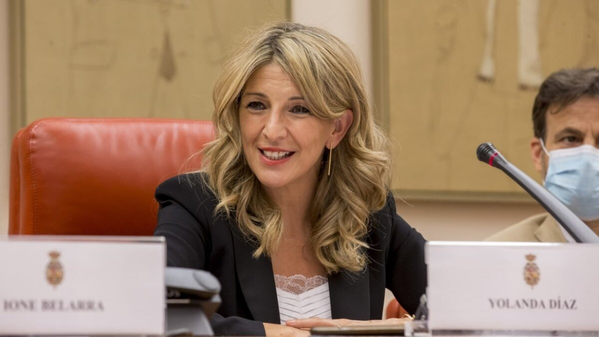 La ministra de Treball, Yolanda Díaz