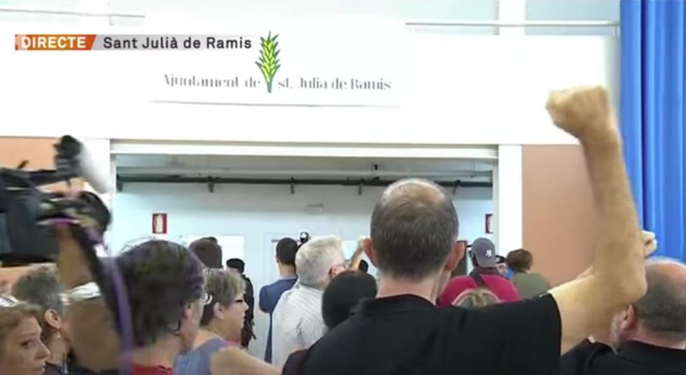 L'1-O del 2017 al pavelló de Sant Julià de Ramis