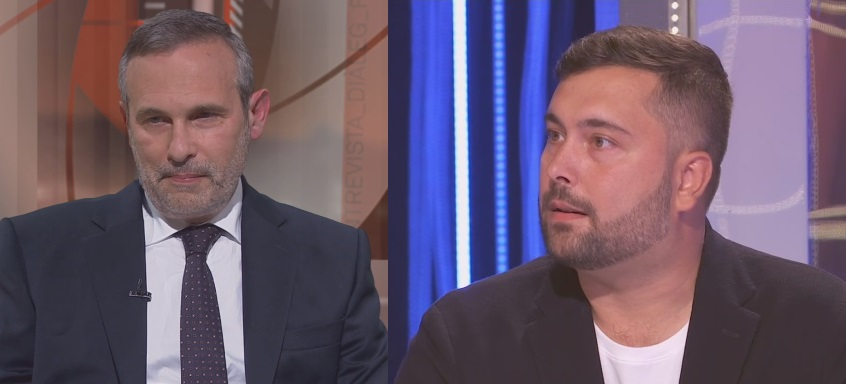 Josep Lluís Alay y Alexander Dmitrenko