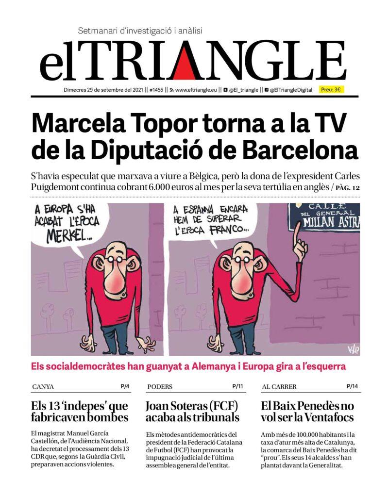 Marcela Topor torna a la TV de la Diputació de Barcelona