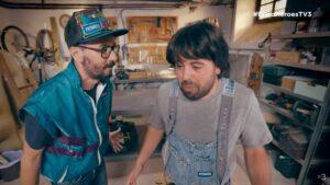 Imatge de l'emissió de 'Bricoheroes'