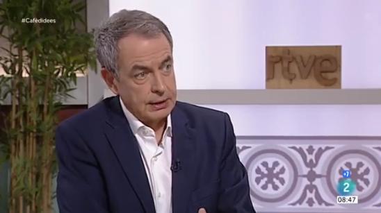 L'expresident Rodríguez Zapatero